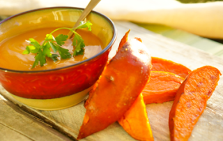 Sweet Potatoes and Coconut Soup