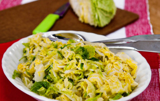 Buttered savoy cabbage recipe