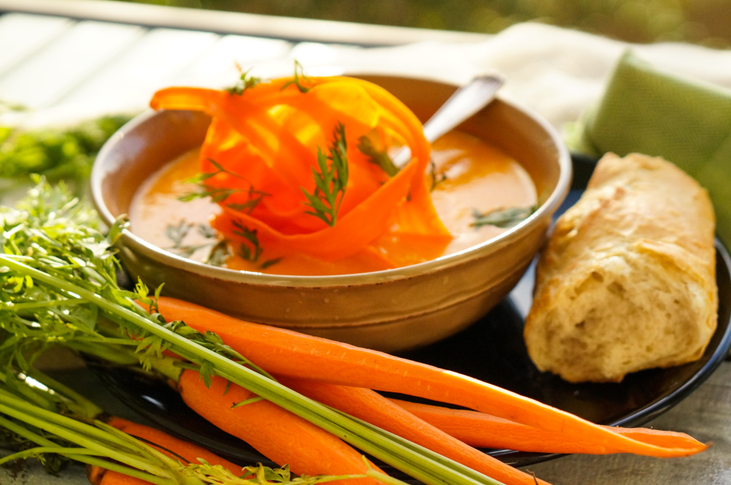 Carrot and Corriander Soup