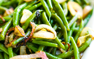 Green Beans and Shallots