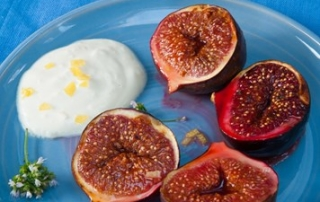 grilled figs with mascarpone recipe grilled figs with mascarpone ...