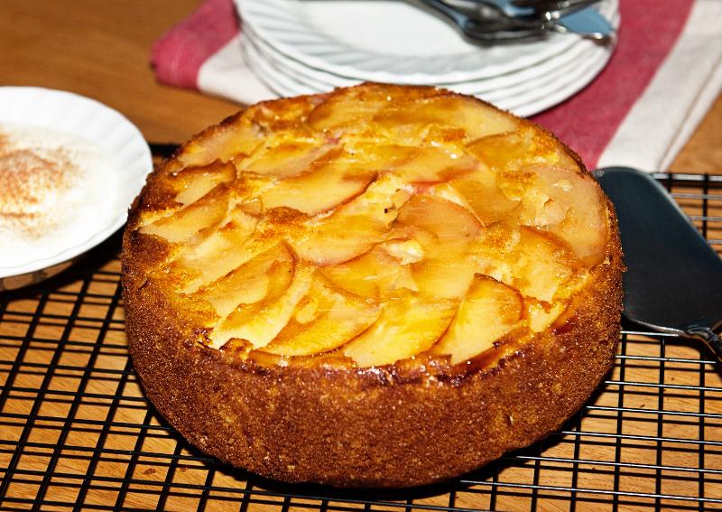 Italian apple torte - Lemon Squeezy