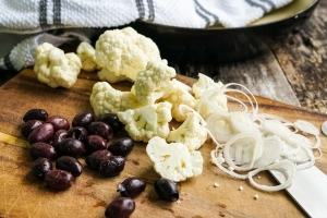 Olives and Cauliflower