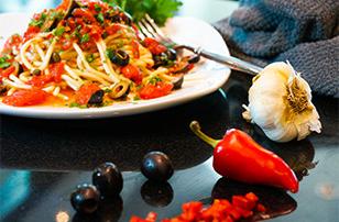 Healthy Puttanesca recipe