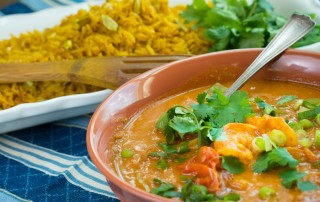Quick & Healthy Prawn Curry