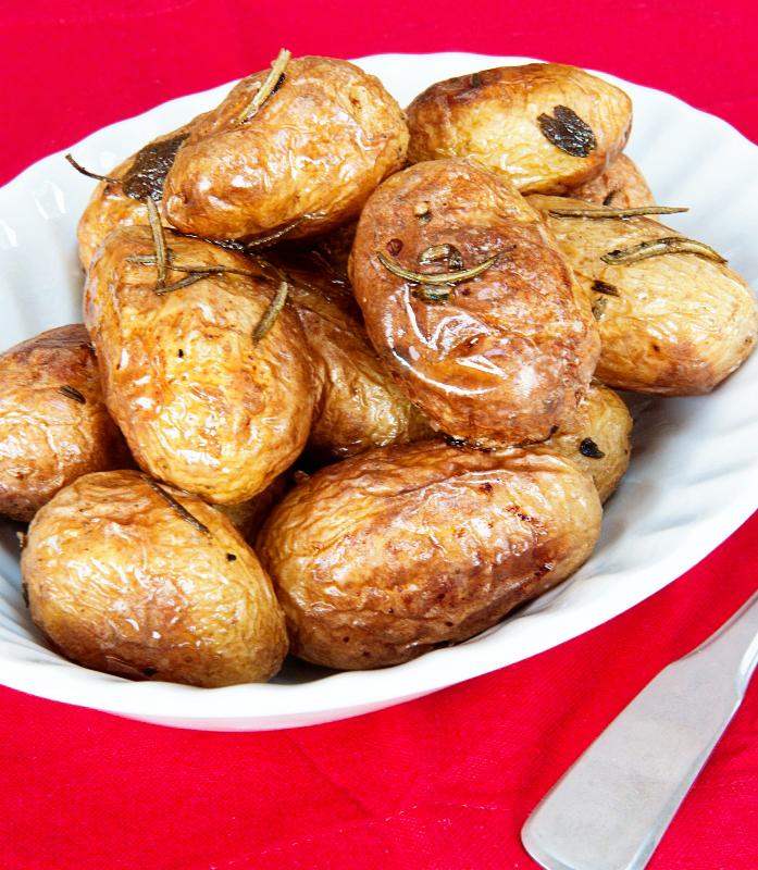 Roast new potatoes recipe 1A