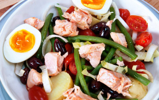 Salmon nicoise recipe