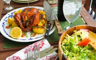 Simply roast chicken