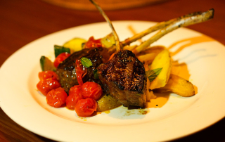 Spiced lamb cutlets recipe