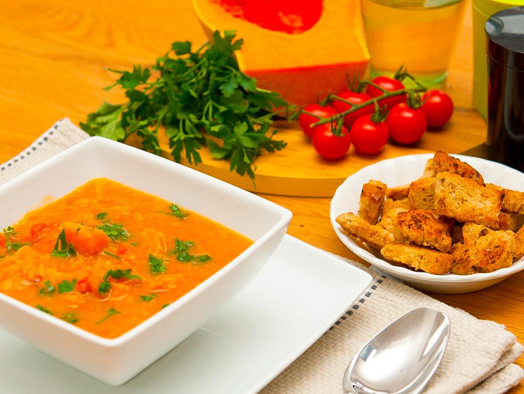 Squash and Cannellini Soup