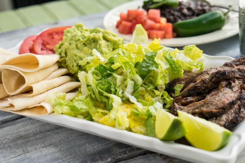 Steak Burrito Plate