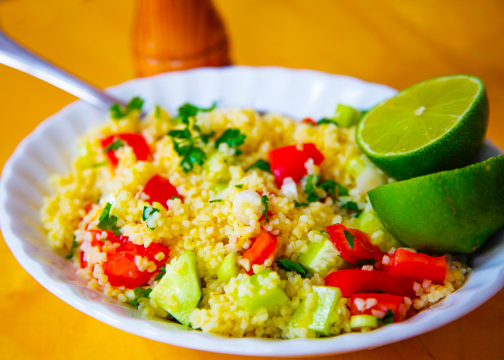 Tabbouleh style salad