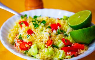 Tabbouleh style salad