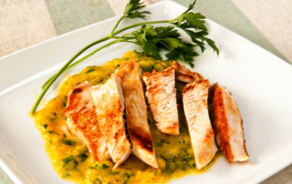 Turkey escalopes with pepper sauce recipe 2A