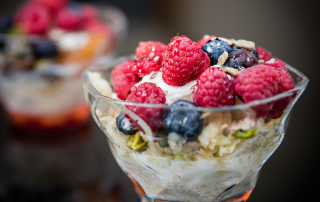 Super-healthy Bircher muesli