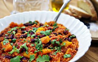 butternut squash and quinoa stew