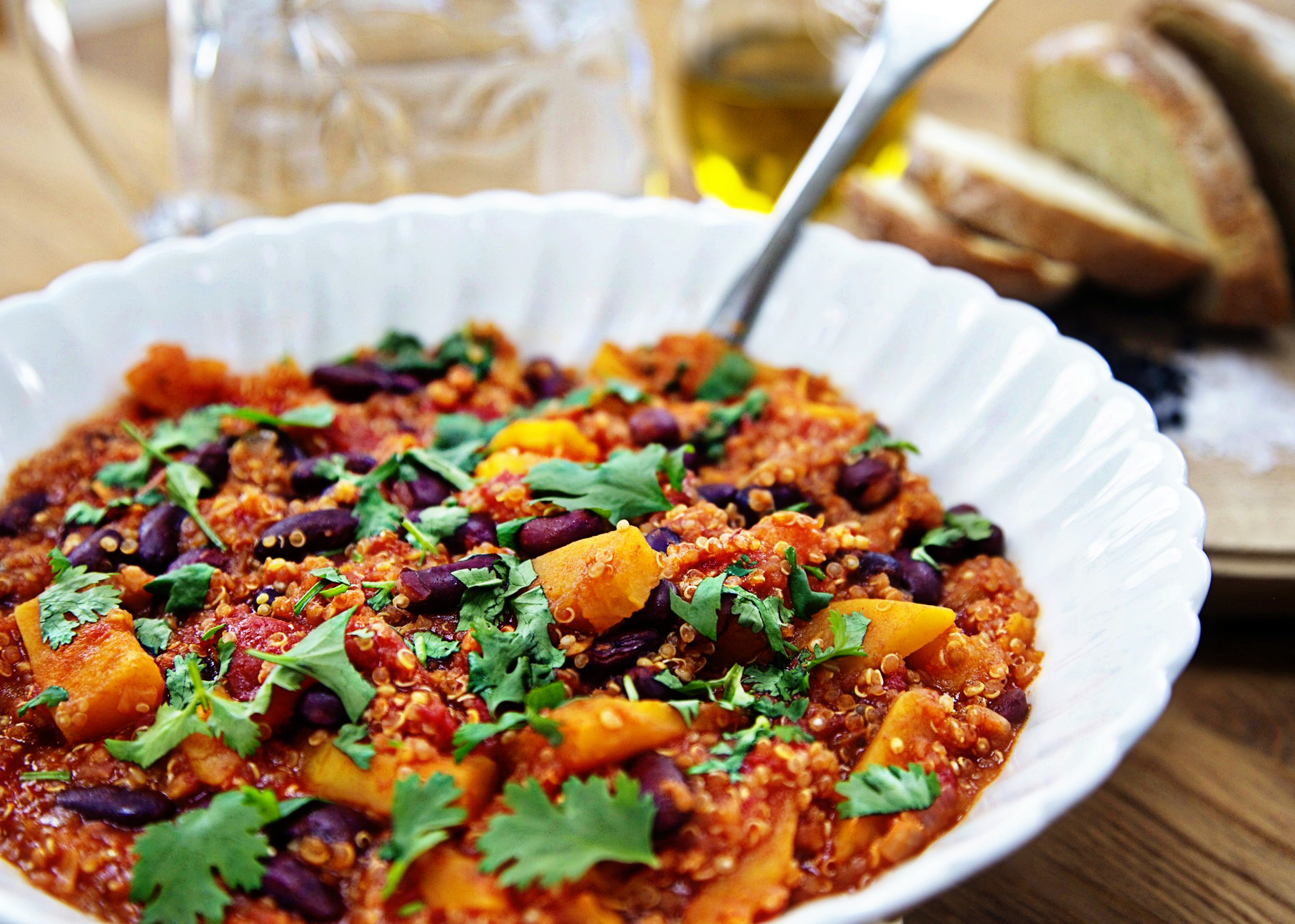 Healthy Butternut Squash with Quinoa Recipe