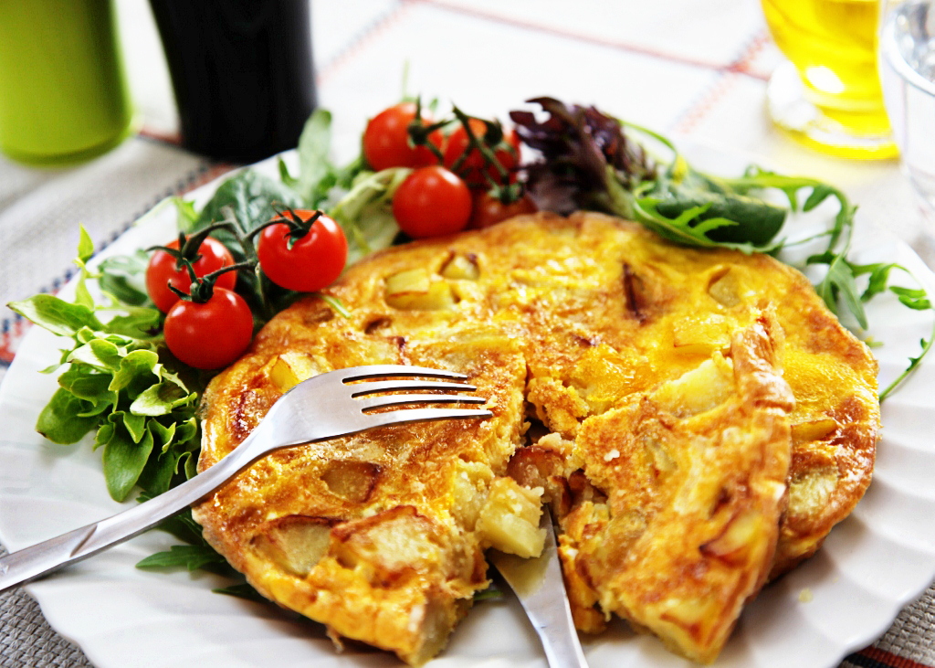 frittata di patate recipe
