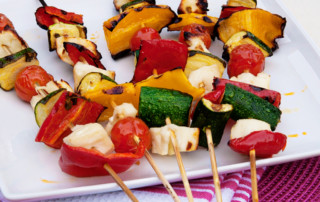grilled halloumi skewers recipe 2