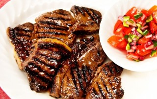 steak with a balsamic vinegar marinade