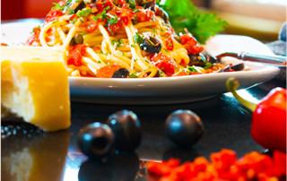 healthy pasta meal with no sugar