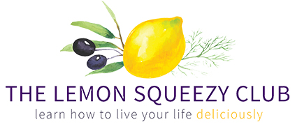 The Lemon Squeezy Club –learn how to live your life deliciously